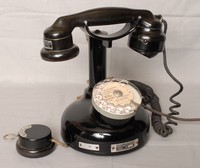 Image of FRENCH DUMPY CANDLESTICK TELEPHONE, 1941