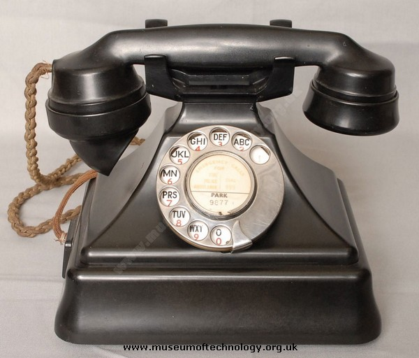 GPO 232 TELEPHONE AND BELL SET 26, 1949