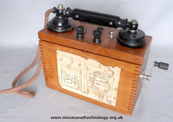 ERICSSON FIELD TELEPHONE, 1920's