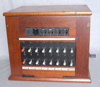 Image of GPO 2 x 4 DOLLS EYE SWITCHBOARD, 1950's