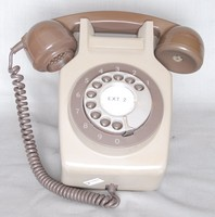 Image of GPO WALL TELEPHONE No 711, 1960's