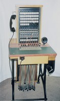 Image of ERICSSON PMX 5 x 40 SWITCHBOARD, 1940's