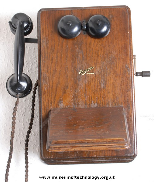 ERICSSON LOCAL BATTERY  WALL TELEPHONE, 1940's