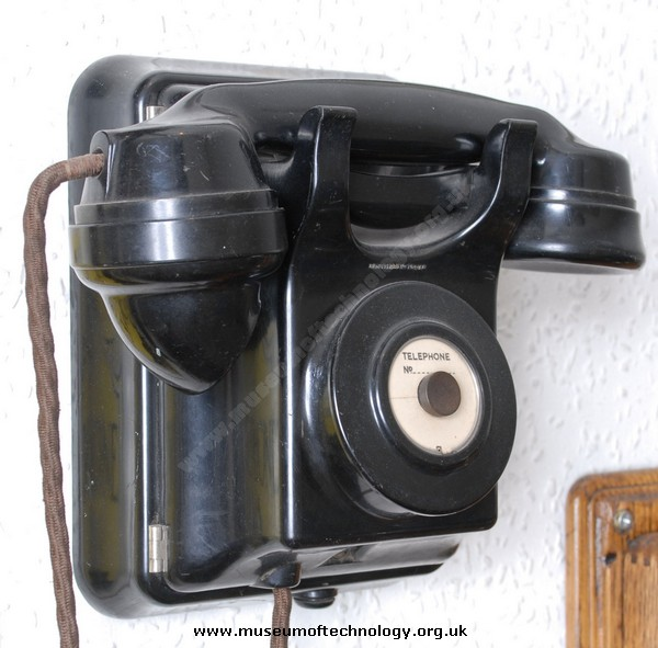 SIEMENS RAILWAY WALL TELEPHONE, 1960's