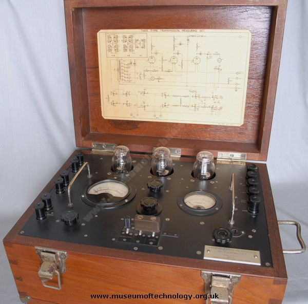 GPO 74101 TRANSMISSION TEST SET, 1950's