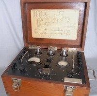 Image of GPO 74101 TRANSMISSION TEST SET, 1950's