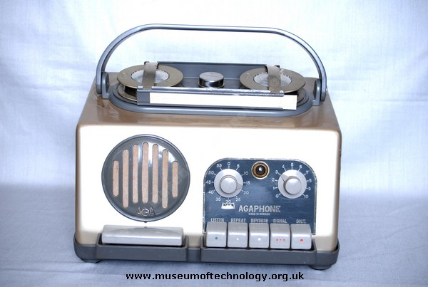 AGAPHONE WIRE RECORDER, 1950's