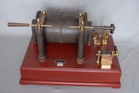 Image of EUREKA 6 INCH RUHMKORFF INDUCTION COIL, 1930's