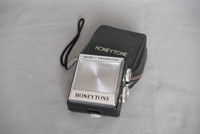 Image of HONEYTONE POCKET TRANSISTOR MICRO 7, 1960's