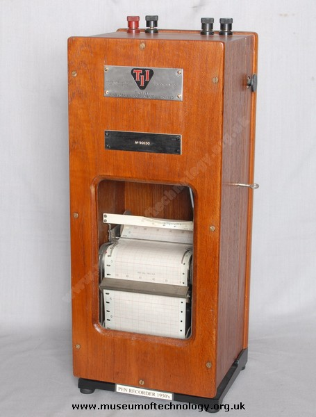 TINSLEY CHART RECORDER, 1950's