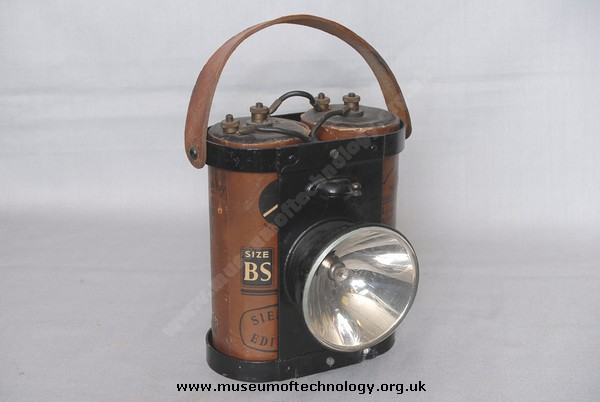 NIGHT WATCHMAN'S  ELECTRIC LAMP, 1930's
