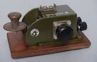Image of LARKSPUR MORSE  KEY K   MK 3, 1950's