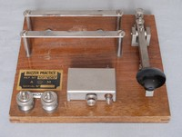 Image of WWII WAR DEPARTMENT PRACTICE MORSE KEY