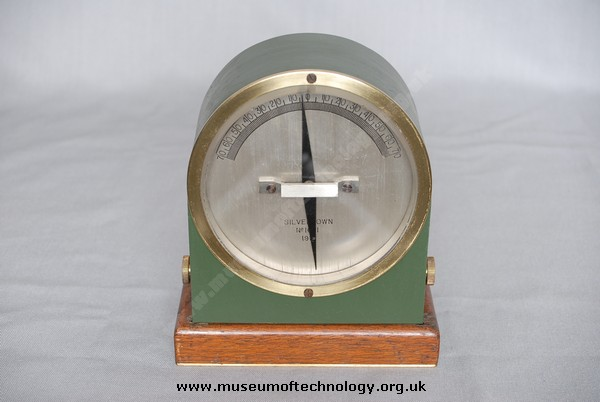 SILVERTOWN GALVANOMETER, 1916