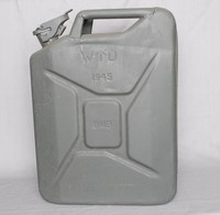 Image of WWII BRITISH JERRYCAN (JERRICAN), 1945