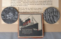Image of WW1 LUSITANIA REPLICA MEDALS, 1915