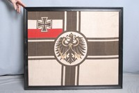 Image of WW1  SMALL TOP FLAG FROM  'PRINZ EUGEN' BATTLESHIP, 1912