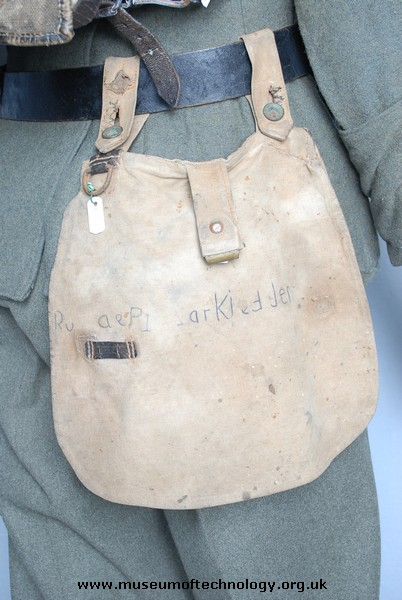 WW1 GERMAN BREAD BAG, 1887