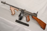Image of WWII THOMPSON MACHINE GUN M1928A, 1928