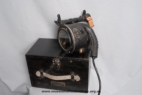 WWII ALDIS SIGNAL LAMP ADMIRALTY PATTERN