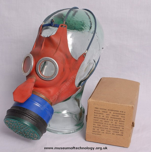 WWII  MICKEY MOUSE GAS MASK (RESPIRATOR)