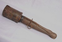 Image of WW1 GERMAN POPPENBERG  JAM POT OR STICK GRENADE, 1915