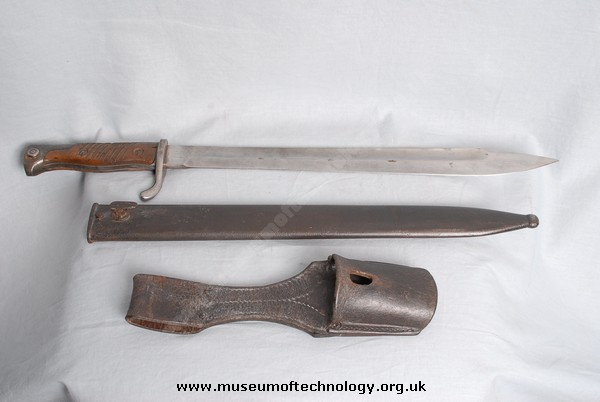 WW1 K 98 MAUSER BAYONET SCABARD AND FROG