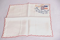 Image of WW1 SILK HANKIE FROM FRANCE