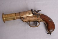 Image of WW1 WEBLEY AND SCOTT FLARE PISTOL, 1917