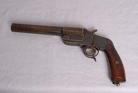 Image of WW1 GERMAN HEBEL FLARE PISTOL
