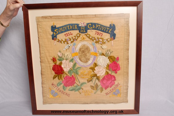 WW1 COMMEMORATIVE SILK