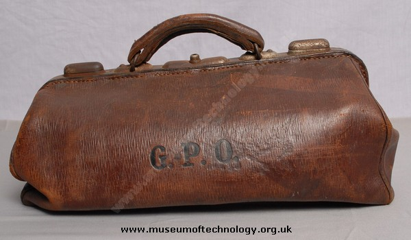 GPO ENGINEERS TOOL BAG, 1930's