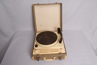 Image of REGENTONE RECORD PLAYER IN FIBRE CASE, 1960's
