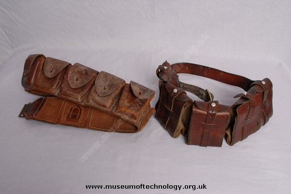 WW1 BRITISH AMMUNITION BELTS