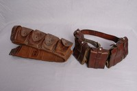 Image of WW1 BRITISH AMMUNITION BELTS