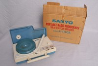 Image of SANYO PORTABLE RADIOGRAM, 1970's