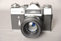 Image of ZENIT E RUSSIAN CAMERA, 1960's