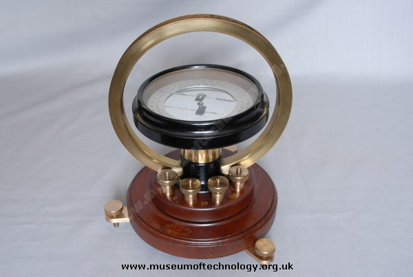 W G PYE CO LTD TANGENT GALVANOMETER, 1900's