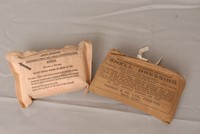 Image of  WW1 & WWII FIRST AID DRESSINGS
