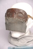 Image of WW1 SPLATTER OR TANK CHAIN MAIL MASK