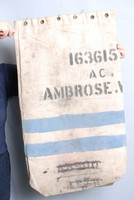 Image of WWII KIT BAG MARKED W AMBROSE