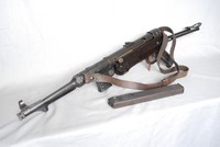 Image of WWII GERMAN MP 40 MACHINE GUN, 1942
