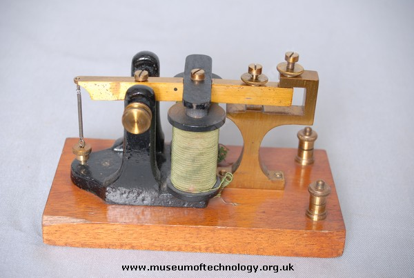 NON-POLARISED MORSE SOUNDER, 1920's