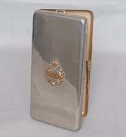 Image of WW1 TANK CORPS CIGARETTE CASE