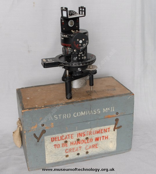 WWII ASTRO COMPASS Mk 2