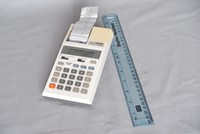 Image of CASIO PRINTING CALCULATOR, 1980's