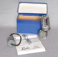 Image of RESLOSOUND RIBBON MICROPHONE, 1950's