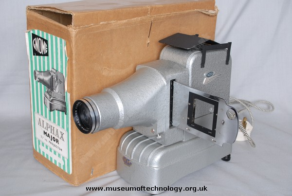 GNOME ALPHAX MAJOR SLIDE PROJECTOR, 1970's