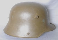 Image of WW1 GERMAN 'COAL BUCKET' HELMET, 1915
