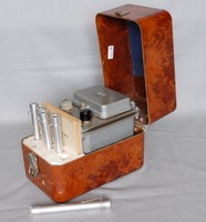 Image of RUSSIAN POCKET DOSIMETER AND CHARGER, 1950's